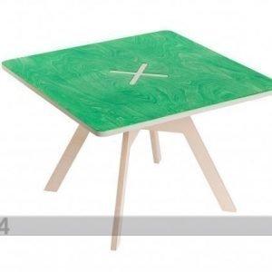 123ok Sohvapöytä/Lastenpöytä 70x70 Cm