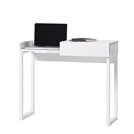 A2 Hidden Kannettavan Tietokoneen Pöytä Valkoinen