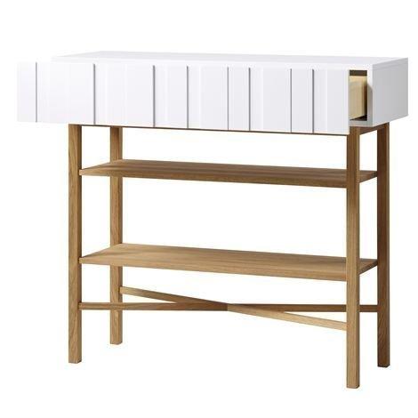 A2 White Sivupöytä Tammi