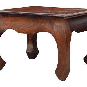 Acazia Opium Sohvapöytä Ruskea 60x60 Cm