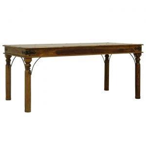 Acazia Ruokapöytä Ruskea 175x90 Cm