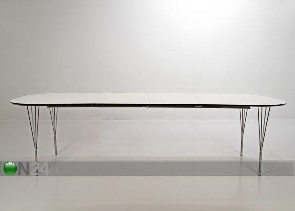 Actona Jatkettava Ruokapöytä Pippolo 100x180-380 Cm