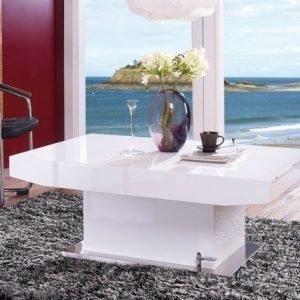 Adesign Säädettävä Sohvapöytä/Ruokapöytä 75x120-180 Cm