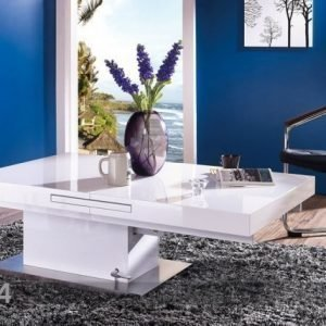 Adesign Säädettävä Sohvapöytä/Ruokapöytä 80x133-170 Cm