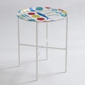 Almedahls Picknick Tarjoilupöytä Valkoinen 45 Cm