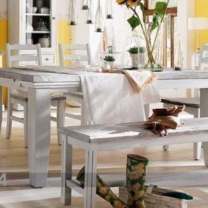 Amc Jatkettava Ruokapöytä Opus 105x180-220 Cm