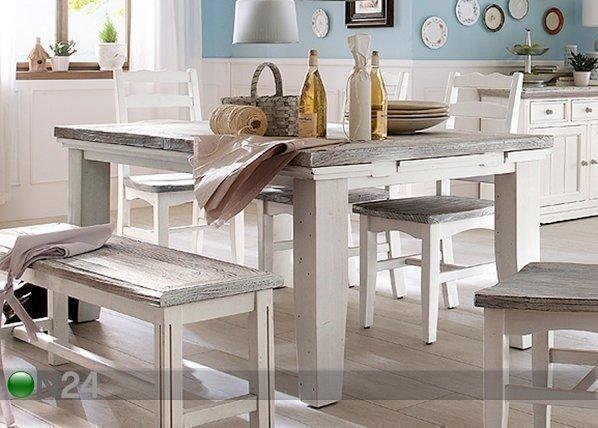 Amc Jatkettava Ruokapöytä Opus 90x140-180 Cm