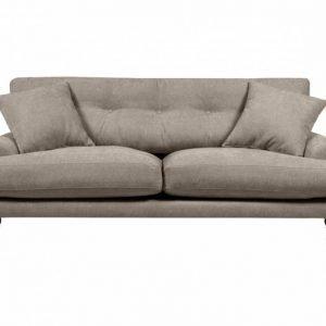 Andy Kahden istuttava sohva Harmaanbeige