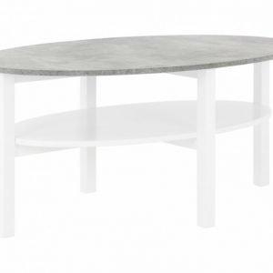 Annelie Sohvapöytä 120 Valkoinen/Vaaleanharmaa