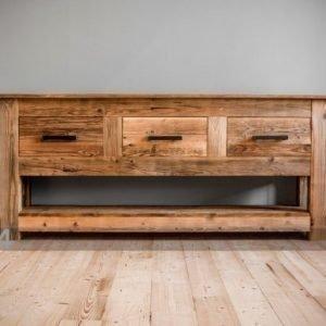 Antique Wood Apupöytä Breeze Ii
