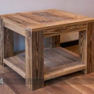 Antique Wood Sohvapöytä Nordic 60x60 Cm