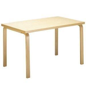 Artek Aalto Pöytä 81b Musta Linoleumi