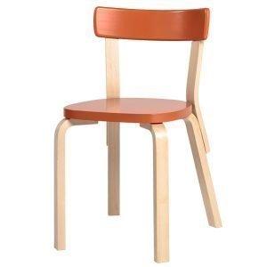 Artek Aalto Tuoli 69 Oranssi