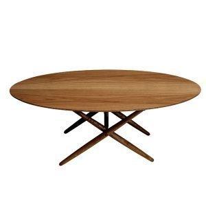 Artek Ovalette Pöytä Pähkinä
