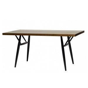Artek Pirkka Pöytä Ruskea / Musta 150x80 Cm