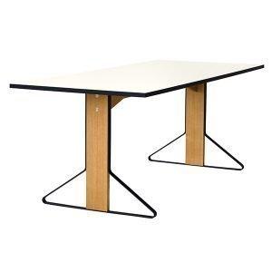 Artek Reb 001 Kaari Pöytä Valkoinen Hpl / Tammi