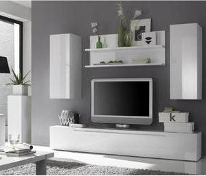 Avohylly Kim paneelihylly 48x113x18 cm valkoinen