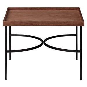 Aytm Unity Tarjotinpöytä Saksanpähkinä / Musta