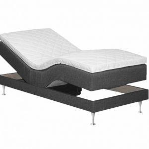 Belinda Säädettävä sänky 90 Tummanharmaa
