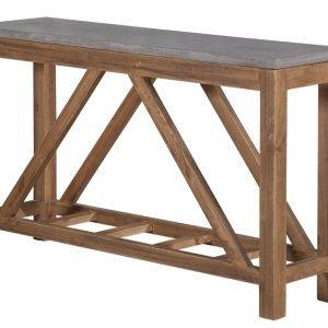 Betoni Sivupöytä 140x35x80 Cm