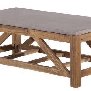 Betoni Sohvapöytä 120x60x45 Cm