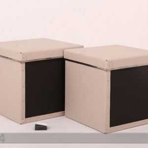 Bigsobox Laatikot Liitutaululla Natural