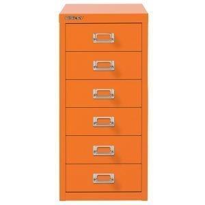Bisley Laatikosto 6 Laatikkoa Oranssi