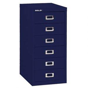Bisley Laatikosto 6l Oxford Blue