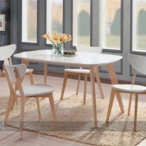 Bl Ruokailuryhmä Renata-O Pöytä + 4 Tuolia