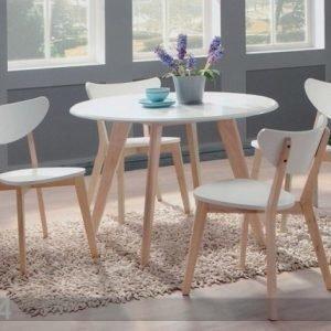 Bl Ruokailuryhmä Renata-P Pöytä + 4 Tuolia