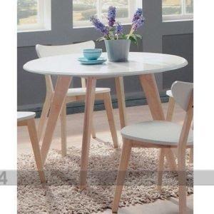 Bl Ruokapöytä Renata-O Ø 105 Cm