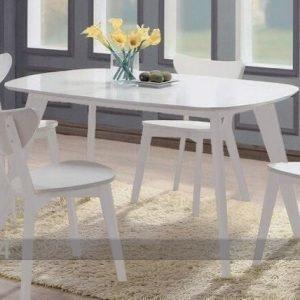Bl Ruokapöytä Renata-O 140x90 Cm
