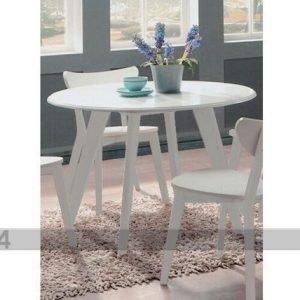 Bl Ruokapöytä Renata-P Ø 105 Cm