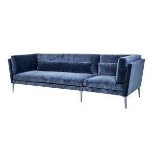 Bloomingville Rox Sohva 3-Istuttava Sininen