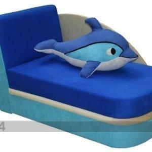 Bogfran Vuodesohva+Vuodevaatelaatikko Delfiini