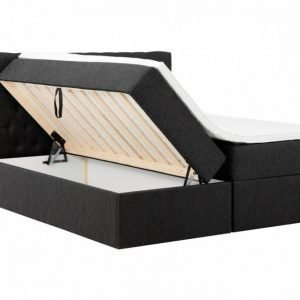 Boxbed Säilytyssänky 180 - Sänkypaketti Musta