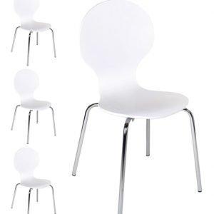 Bundy New Tuolit Valkoinen 4 Kpl