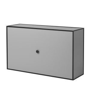 By Lassen Frame Shoe Cabinet Kenkäkaappi Dark Grey