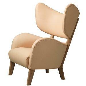 By Lassen My Own Chair Nojatuoli Ruskeaksi Öljytty Tammi Natural