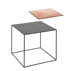 By Lassen Twin Table 42 Sivupöytä Musta / Kupari