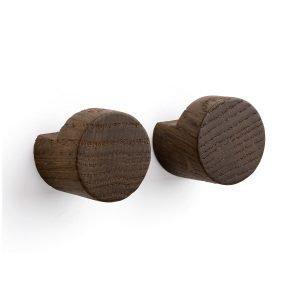 By Wirth Wood Knot Ripustin Savustettu Tammi 2-Pakkaus