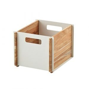 Cane Line Box Säilytyslaatikko Tiikki / Valkoinen 35