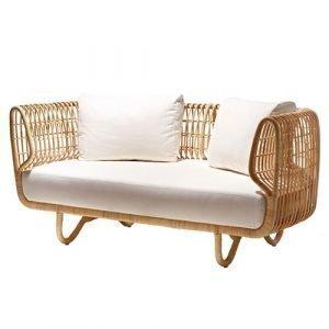 Cane Line Nest Istuintyynysetti Sohvalle Valkoinen