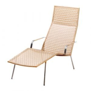 Cane Line Straw Lounge Tuoli Luonnonväri