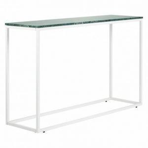 Carrie Apupöytä 120 Vihreä/Valkoinen