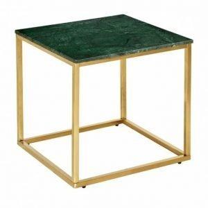Carrie Sivupöytä 50 Messinki/Vihreä