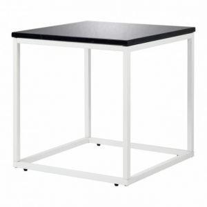 Carrie Sivupöytä 50 Musta/Valkoinen