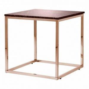 Carrie Sivupöytä 50 Punainen/Kupari