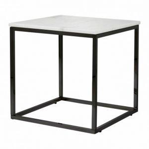 Carrie Sivupöytä 50 Valkoinen/Musta