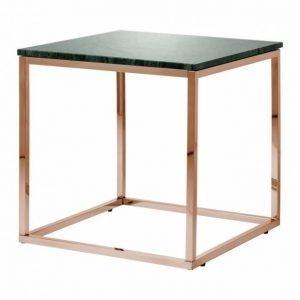 Carrie Sivupöytä 50 Vihreä/Kupari